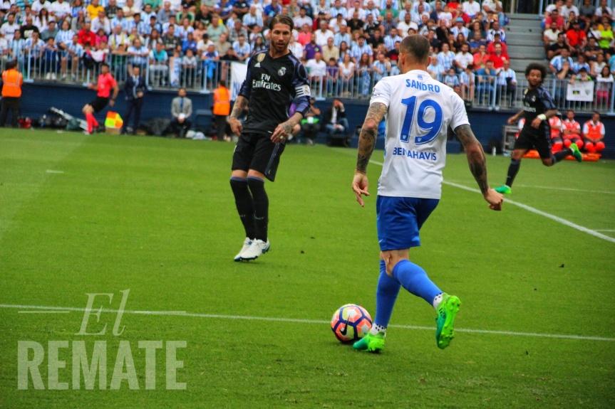 """Sandro reconoce el interés de """"varios clubes"""" y alaba a Míchel: """"Ha puesto a cada uno en susitio"""""""