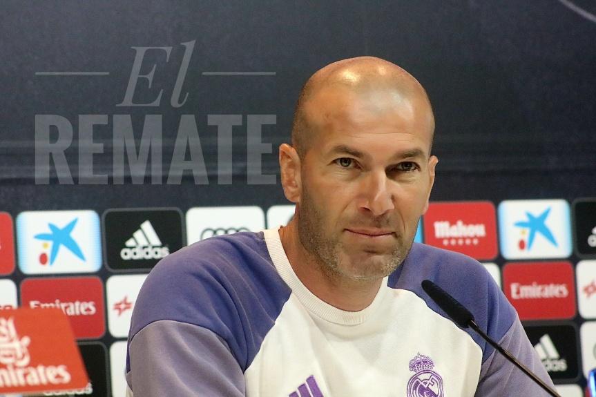 """Zidane: """"El Málaga lo está haciendo fenomenal"""""""