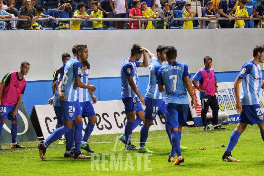 Adrián ya da alegrías(1-0)