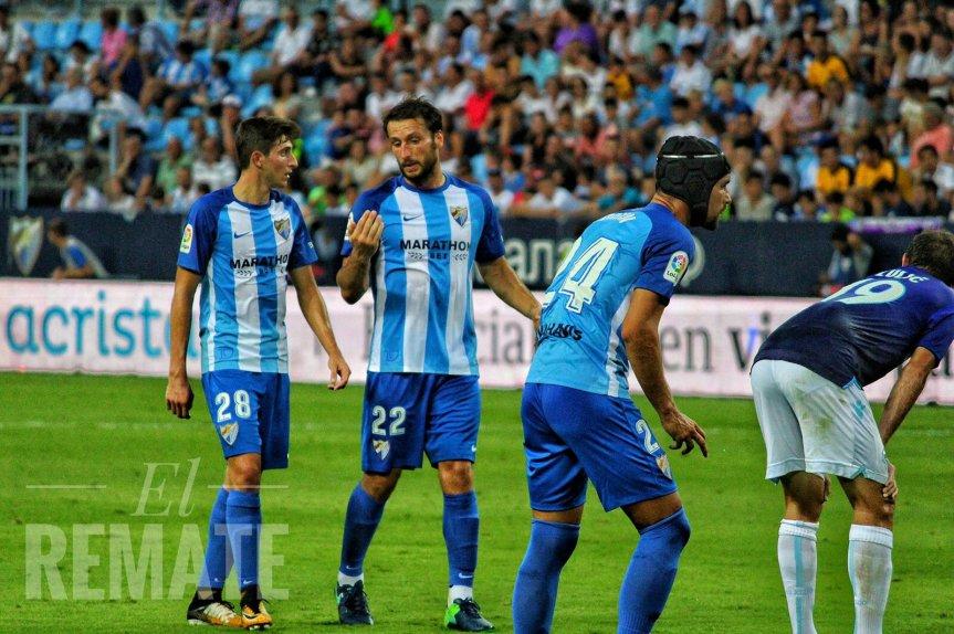 La derrota del Málaga en el Trofeo Costa del Sol enimágenes