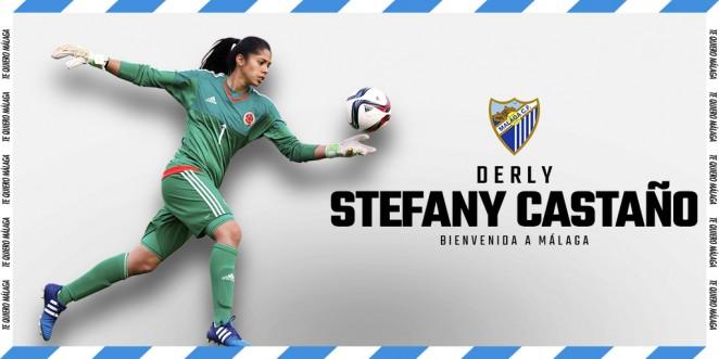 Stefany Castaño, refuerzo bajo palos para el MálagaFemenino