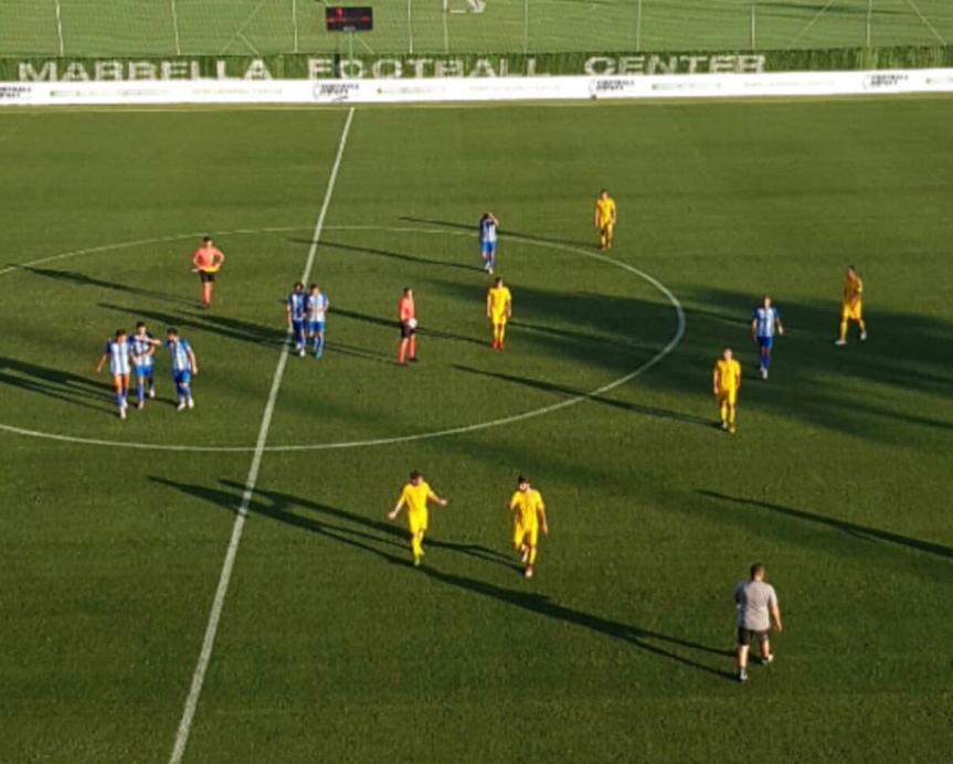 Empate a nada entre Málaga y Marbella en el tercer test de pretemporada(0-0)