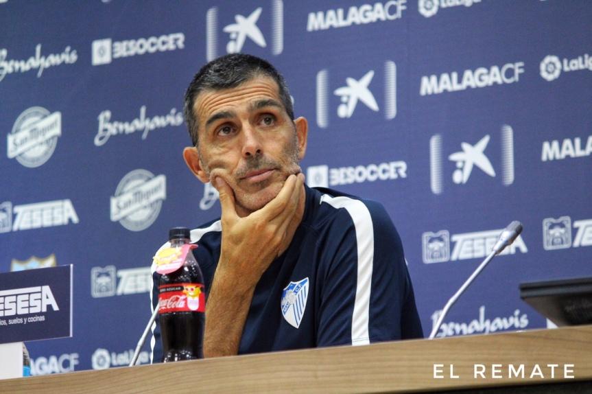 """Muñiz: """"Mañana seré un aficionado más en LaRosaleda"""""""