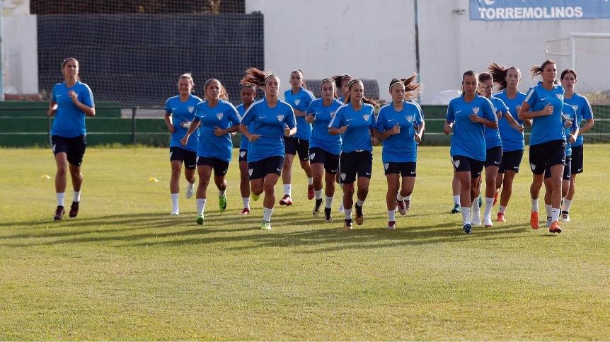 El Málaga CF Femenino echa a rodar con la ilusión porbandera
