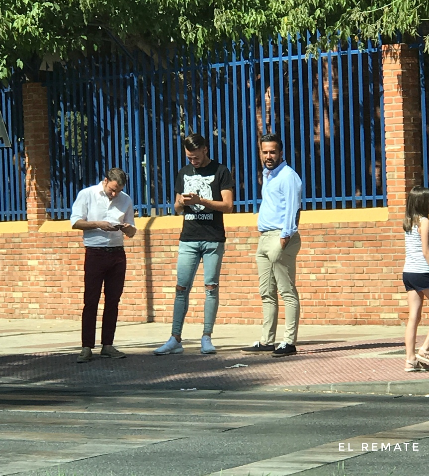 Joel Arimany, en La Rosaleda para convertirse en el segundo refuerzo delMalagueño
