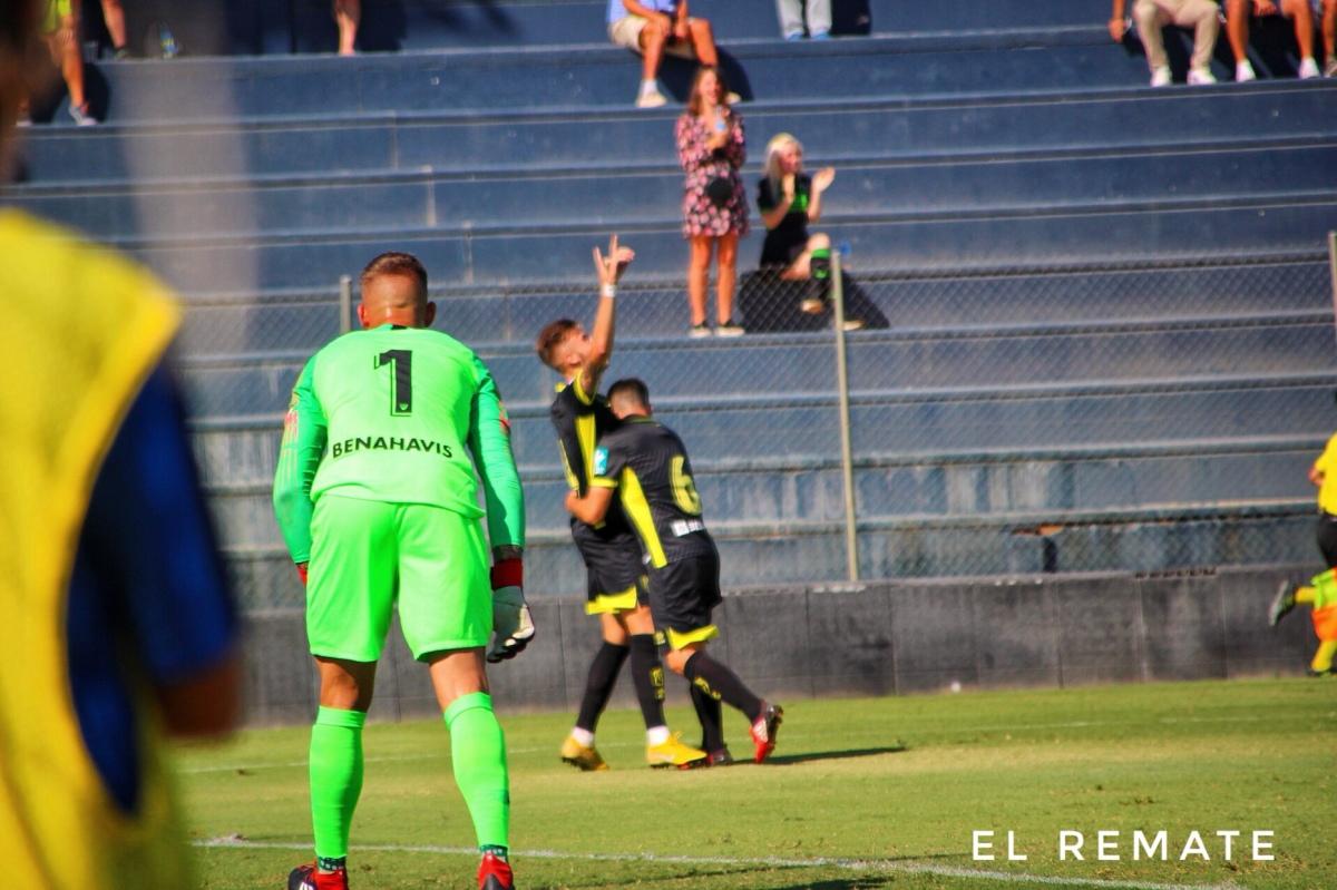 El tropiezo del Malagueño ante el Recreativo Granada (0-1), en imágenes
