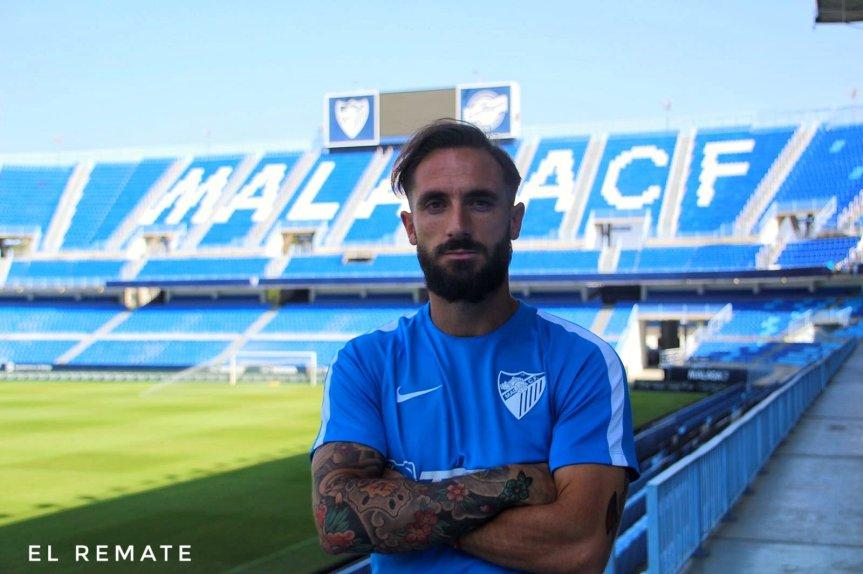"""Cifu se sincera en exclusiva: """"Espero seguir demostrando en el campo las ganas de llevar al Málaga a lo más altoposible"""""""