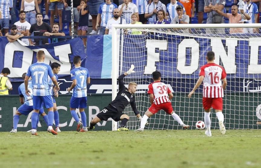 Quince minutos de desconexión apean al Málaga de la Copa(1-2)