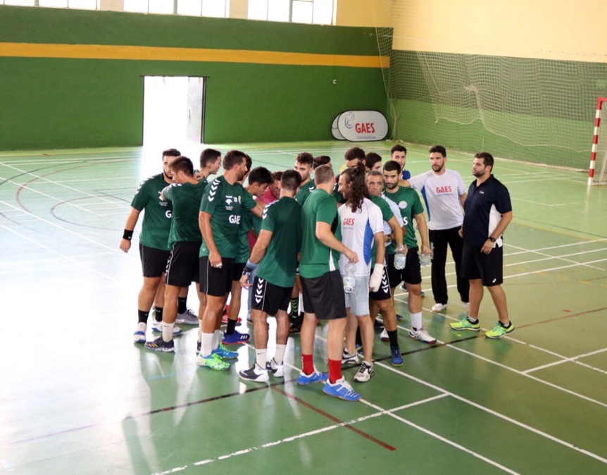 Buenas sensaciones del GAES Málaga ante un equipo de superior categoría(21-25)