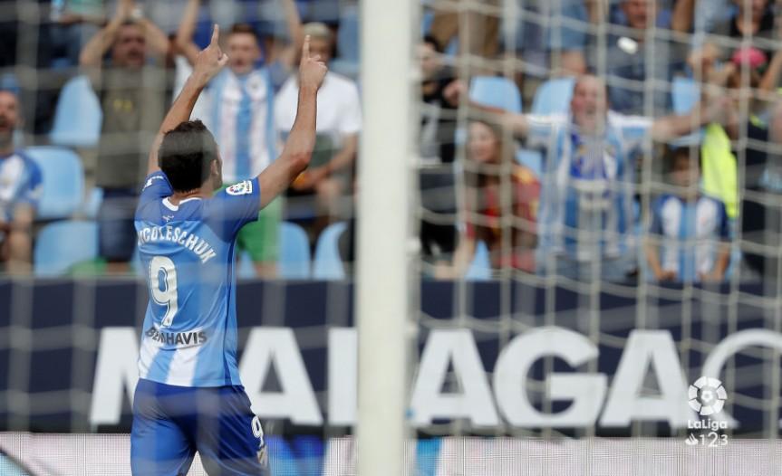 """Ni el """"virus FIFA"""" puede con este Málaga(1-0)"""