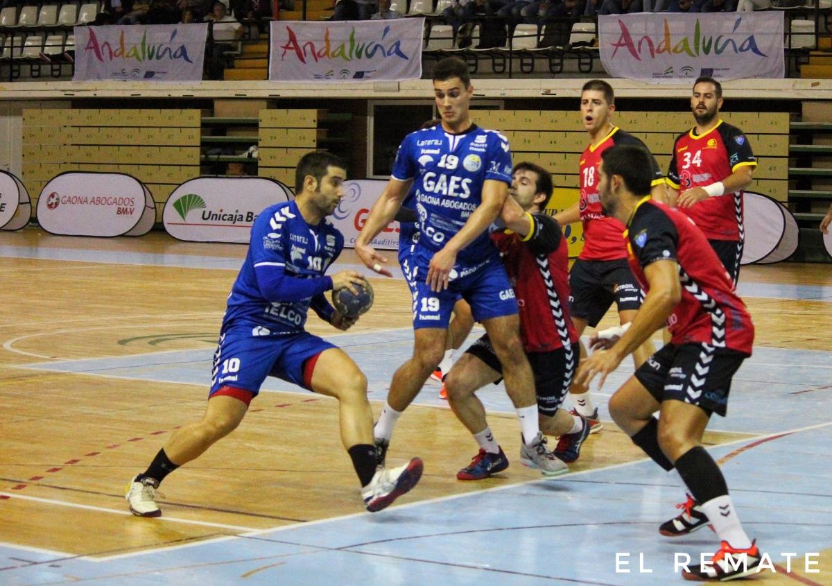 Golpe sobre la mesa del Gaes Málaga (25-23)