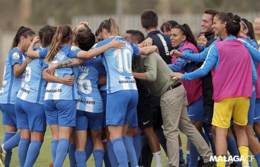 El Málaga Femenino doblega al Espanyol y sale del descenso(2-1)