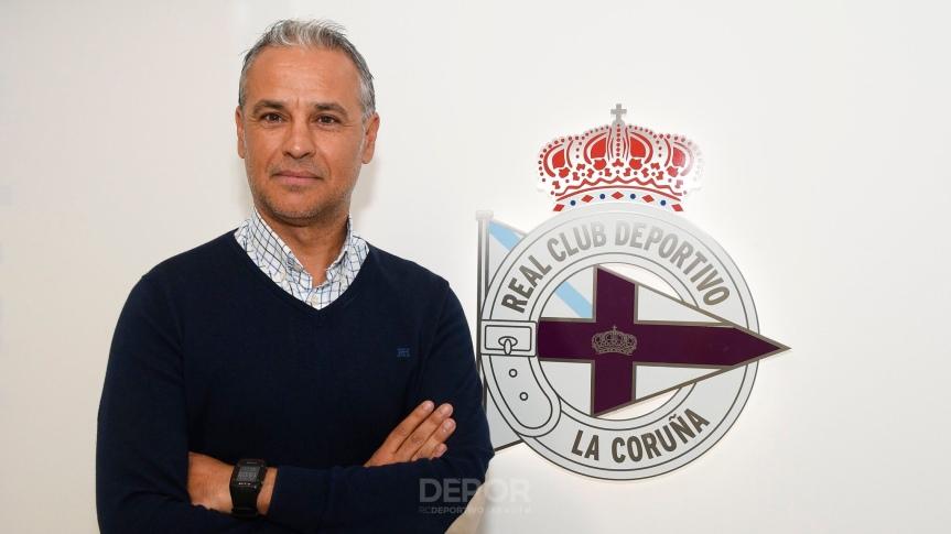 Pellicer entrenará al DeportivoFabril
