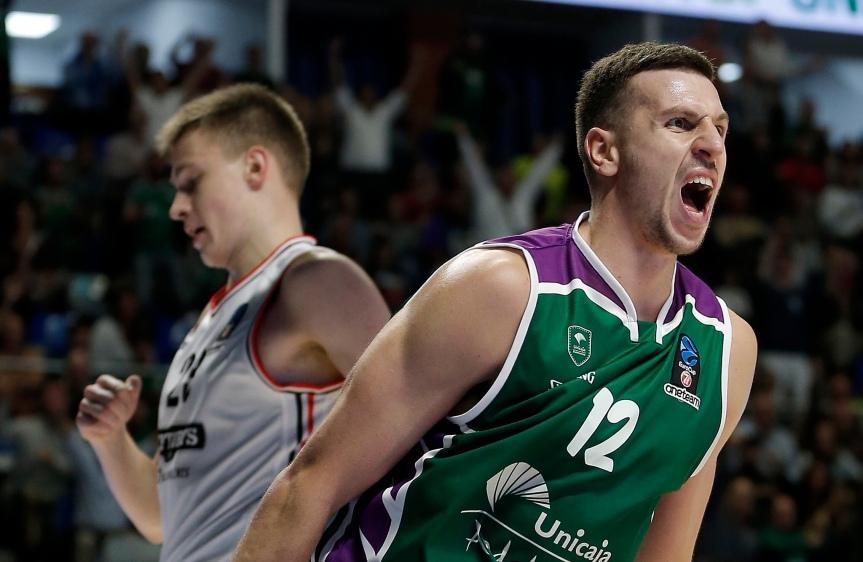 Unicaja destroza a Rytas Vilnius desde la defensa(95-76)