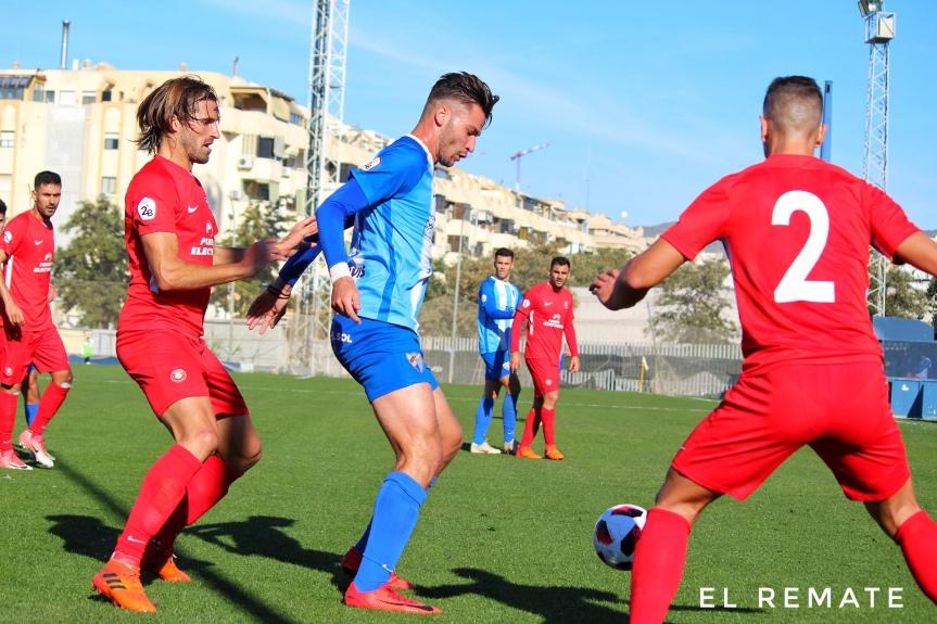 El empate entre el Malagueño y el Ibiza, enimágenes