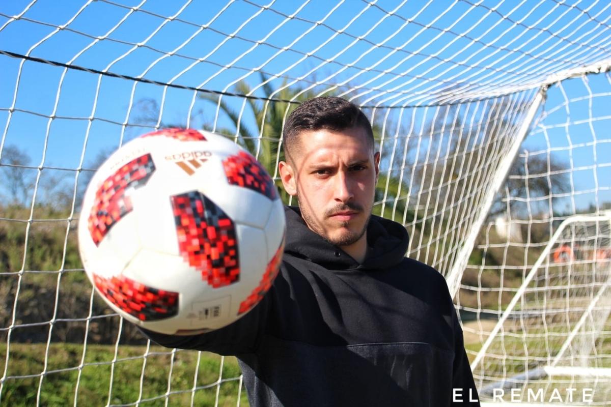 """Samu Casado: """"Mi sueño es estar con el primer equipo del Málaga"""""""