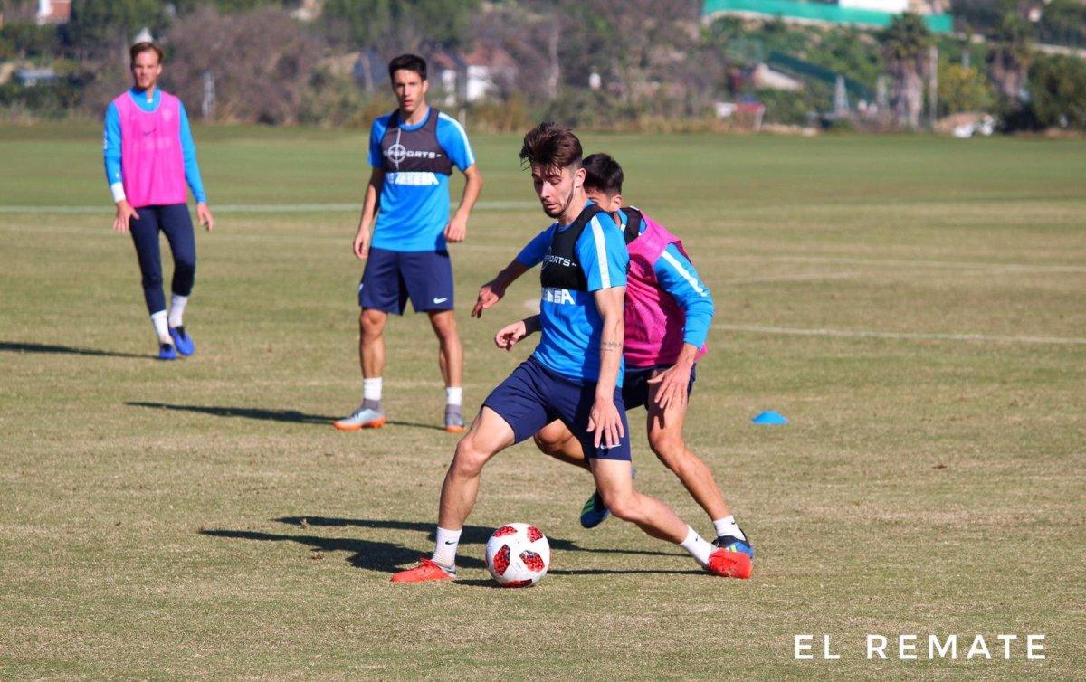 El entrenamiento del Atlético Malagueño en imágenes