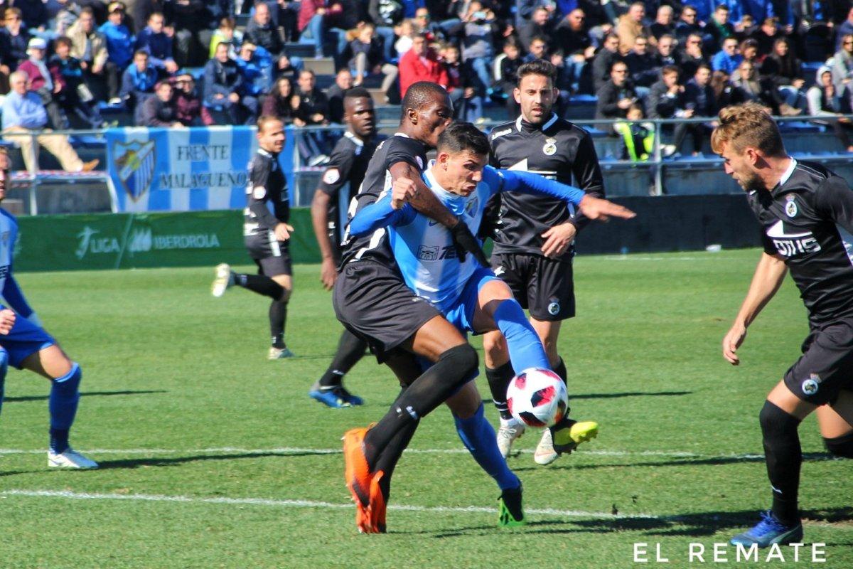 La derrota del Atlético Malagueño en imágenes