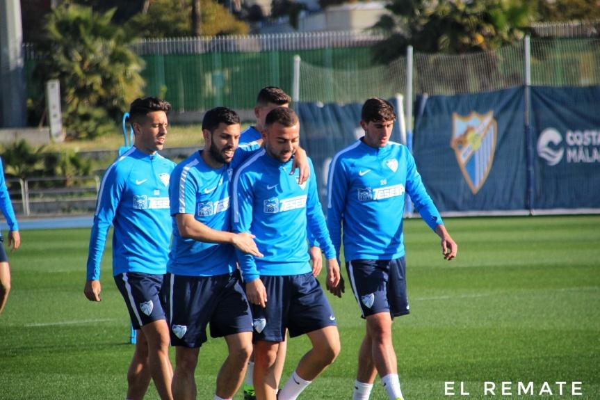 Convocatoria del Málaga CF para viajar aTarragona