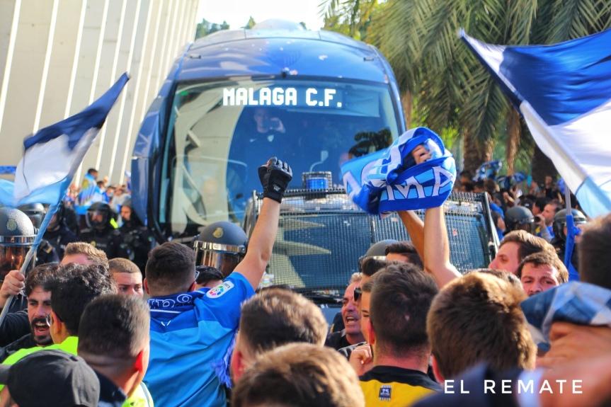 El Málaga CF pone a la venta 216 entradas para el derbi ante el GranadaCF