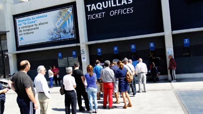 El club da a conocer los horarios para adquirir una entrada para el Córdoba CF – MálagaCF