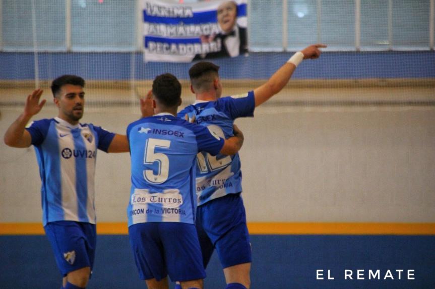 La victoria y celebración del título liguero del Málaga CF Futsal, enimágenes