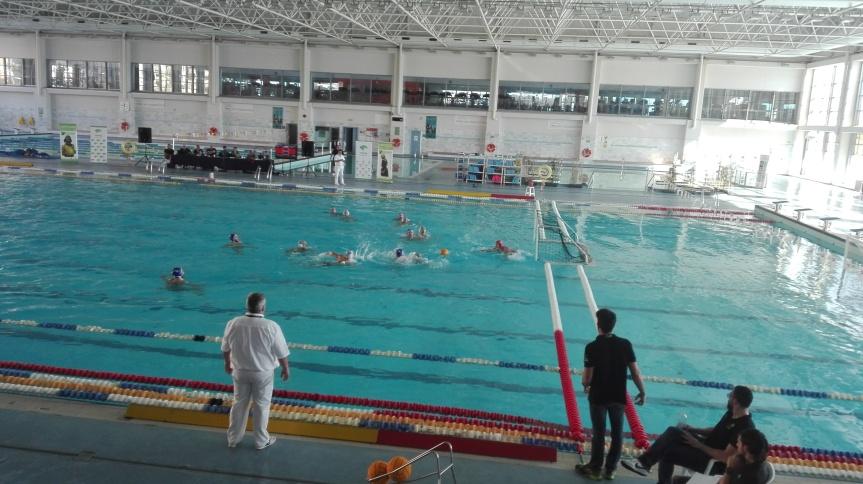 Pese a la derrota, buenas sensaciones del Waterpolo Málaga(3-7)