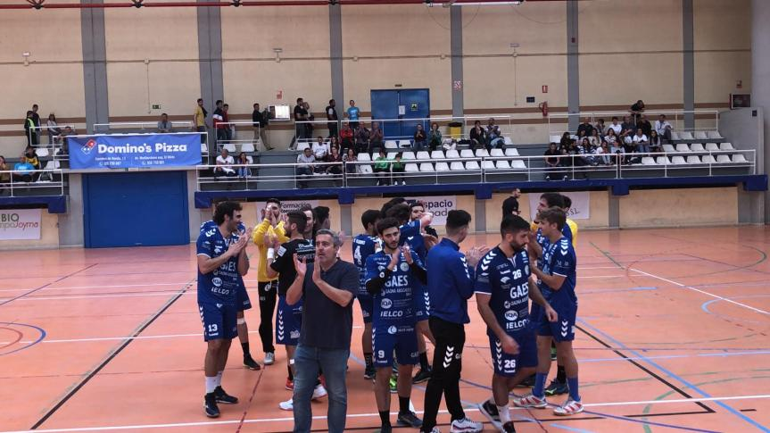 El Gaes Málaga consigue su primer objetivo, asegurarse el playoff(25-27)