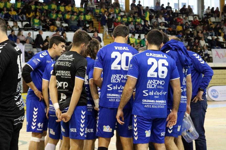 El Gaes Málaga pone pie y medio en la fase de ascenso(25-20)