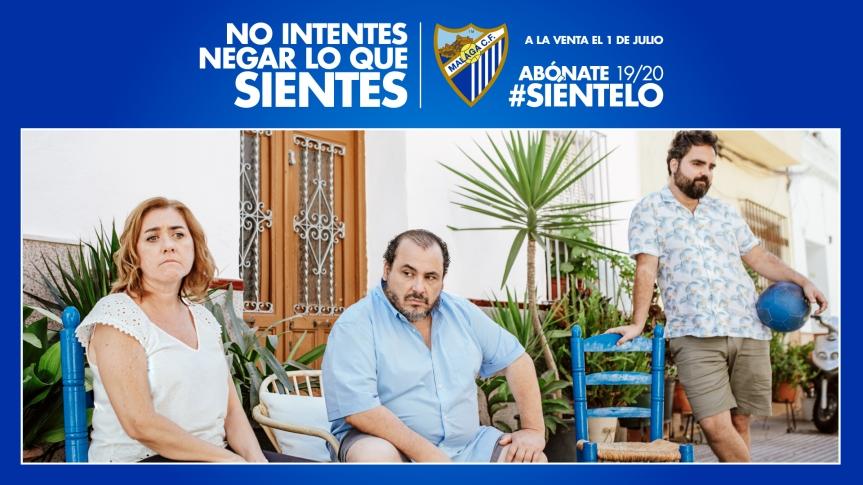 """""""#Siéntelo"""", la nueva campaña de abonados del Málaga para la2019/2020"""