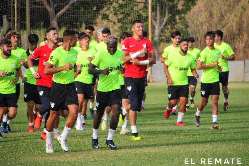 El entrenamiento del Atlético Malagueño enimágenes