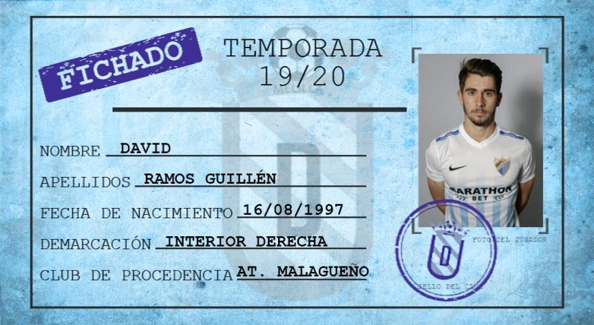 David Ramos deja el Atlético Malagueño y ficha por la UDMelilla