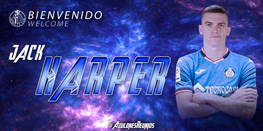 Jack Harper es nuevo jugador delGetafe
