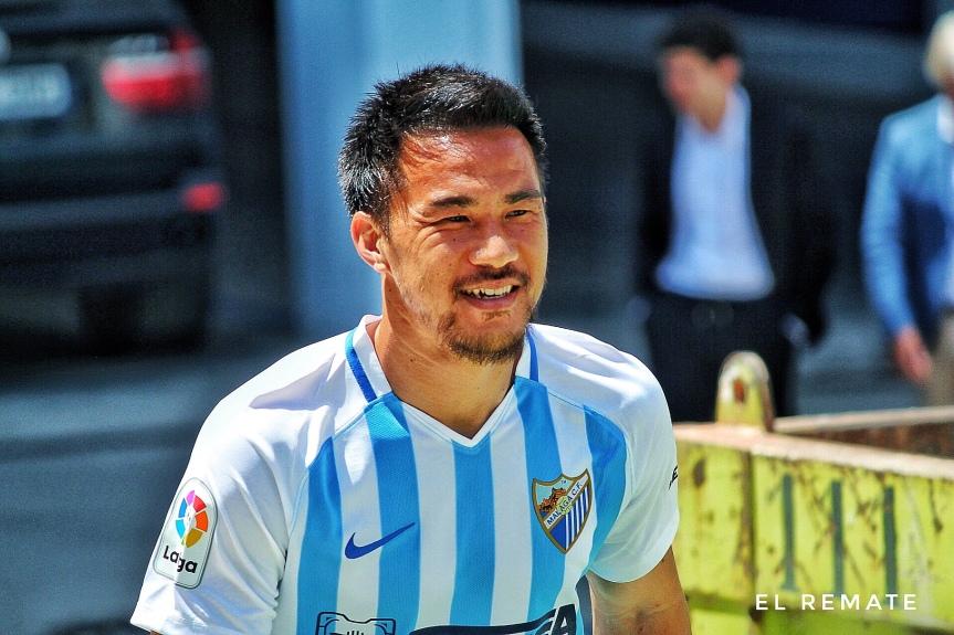 OFICIAL: Okazaki rescinde su contrato con el Málaga