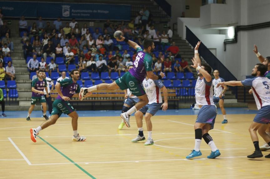 El Ciudad de Málaga sucumbe en su debut en Plata ante el Teucro(19-23)