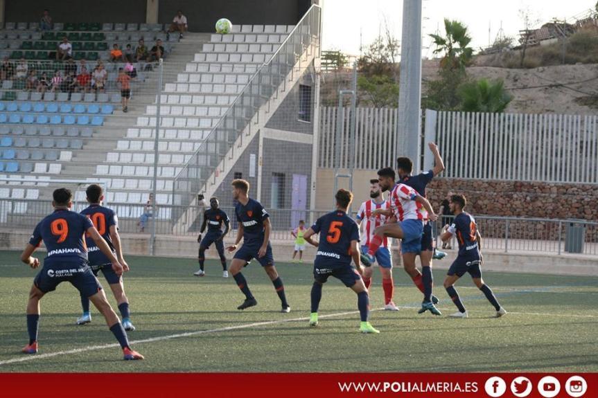 El Malagueño saca un empate de su visita al Poli Almería(1-1)
